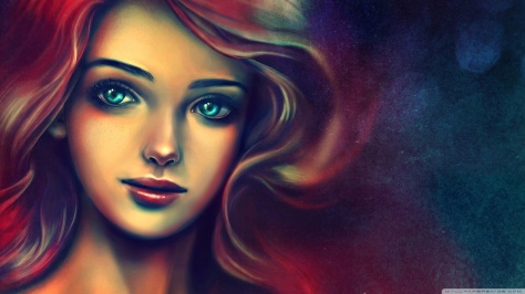 portrait_of_a_beautiful_woman_painting-wallpaper-1366x768